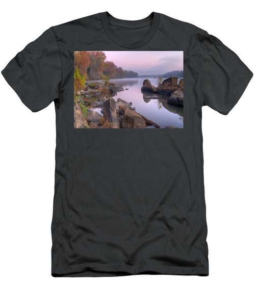 Congaree River At Dawn-1 Men's T-Shirt (Athletic Fit)