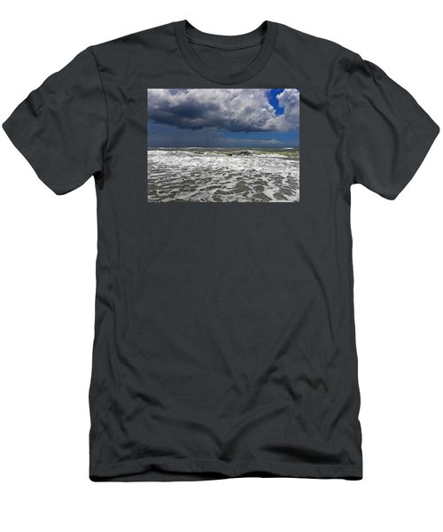 Conquering The Storm Men's T-Shirt (Slim Fit) by Sandi OReilly
