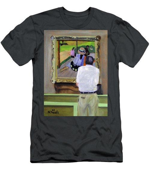 Contemplating Gauguin Men's T-Shirt (Athletic Fit)