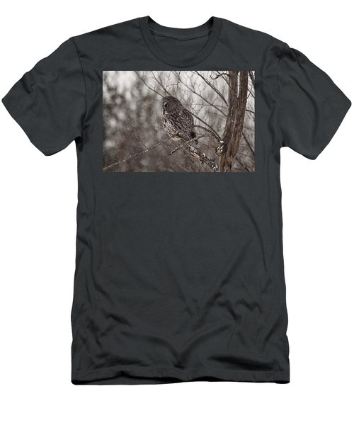 Contemplating Winter Men's T-Shirt (Athletic Fit)