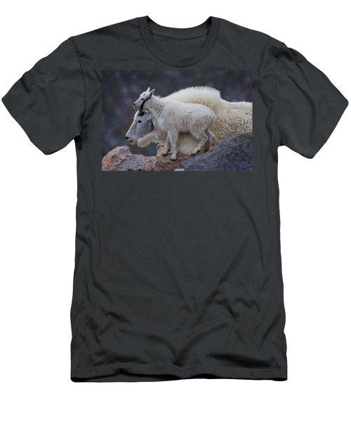 Contentment  Men's T-Shirt (Athletic Fit)