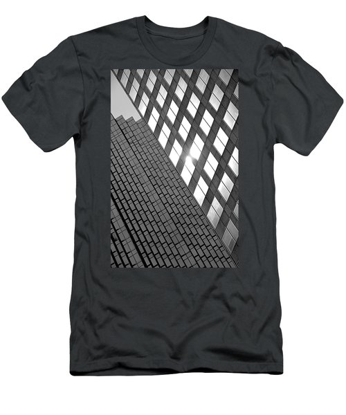 Contrasting Architecture Men's T-Shirt (Athletic Fit)
