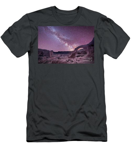 Corona Arch Milky Way Men's T-Shirt (Athletic Fit)