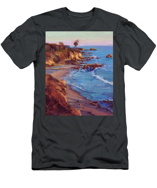 Corona Del Mar Newport Beach California Men's T-Shirt (Athletic Fit)