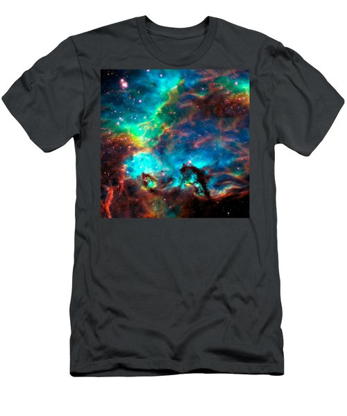 Cosmic Cradle 2 Star Cluster Ngc 2074 Men's T-Shirt (Athletic Fit)