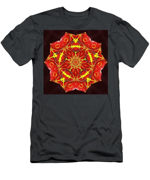 Cosmic Masculine Firestar Men's T-Shirt (Athletic Fit)