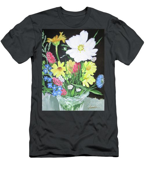 Cosmos And Her Wild Friends Men's T-Shirt (Slim Fit)