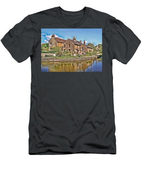Cottages At Avoncliff Men's T-Shirt (Athletic Fit)