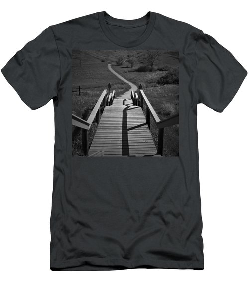 Coulee Stairs Men's T-Shirt (Athletic Fit)
