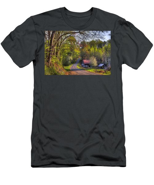 Country Lanes Men's T-Shirt (Athletic Fit)