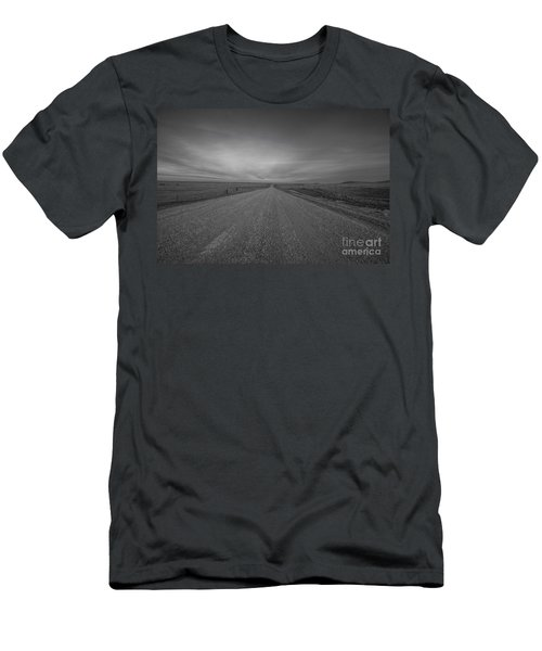 A Country Road Of South Dakota Men's T-Shirt (Athletic Fit)
