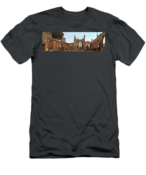 Coventry Cathedral Ruins Panorama Men's T-Shirt (Athletic Fit)