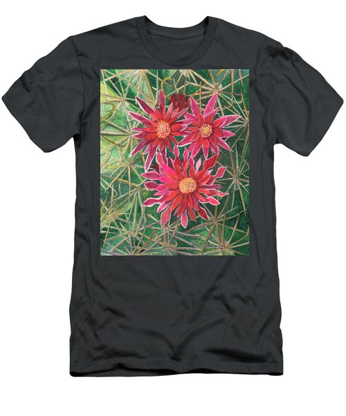 Coville Barrel Blossoms Men's T-Shirt (Athletic Fit)