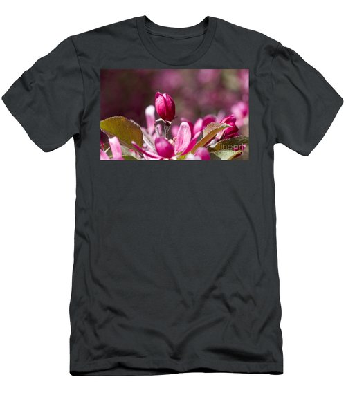 Crabapple Bud Men's T-Shirt (Athletic Fit)