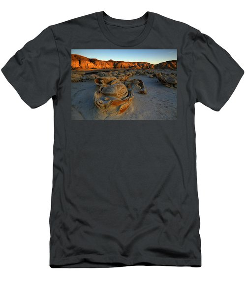 Cracked Eggs In The Bisti Badlands  Men's T-Shirt (Athletic Fit)