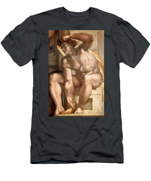 Creation Of Eve - Ignudo Detail Men's T-Shirt (Athletic Fit)
