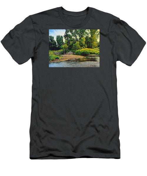 Creek's Bend Men's T-Shirt (Athletic Fit)