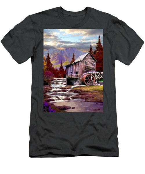 Creekside Mill Men's T-Shirt (Slim Fit) by Ron Chambers