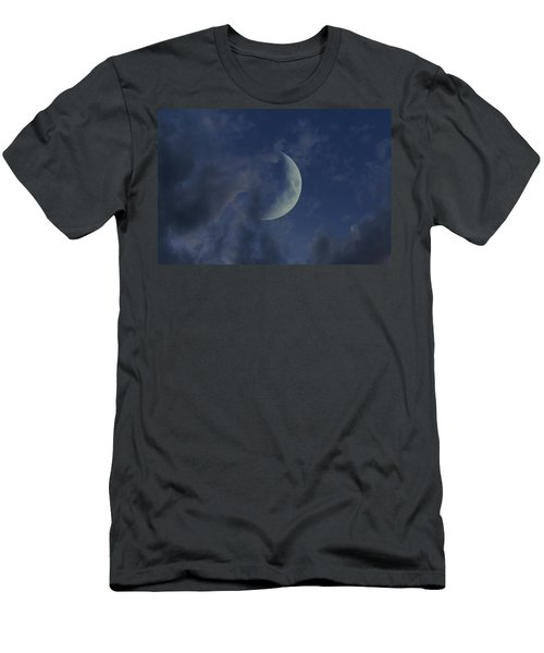 Crescent Moon Men's T-Shirt (Athletic Fit)