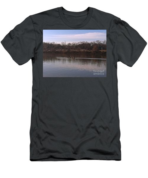 Crew On The Schuylkill - 1 Men's T-Shirt (Athletic Fit)