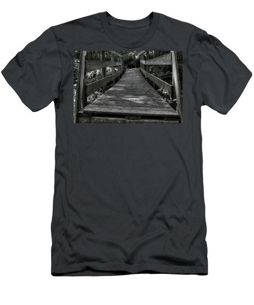 Crooked Bridge Men's T-Shirt (Athletic Fit)