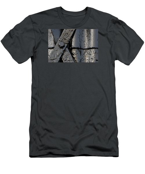 Men's T-Shirt (Slim Fit) featuring the photograph Cross Over by Wendy Wilton