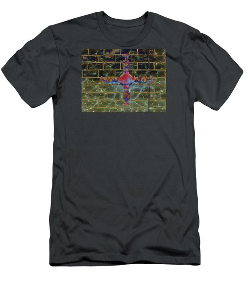 Cruciform The Second Men's T-Shirt (Slim Fit) by MJ Olsen