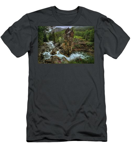 Crystal Mill Riverside Men's T-Shirt (Athletic Fit)