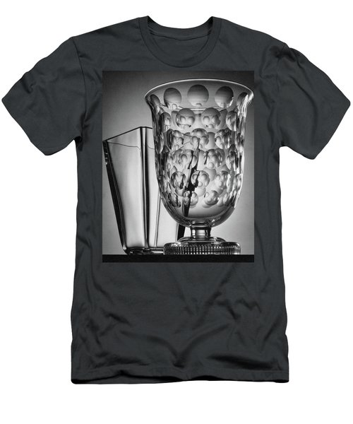 Crystal Vases From Steuben Men's T-Shirt (Athletic Fit)