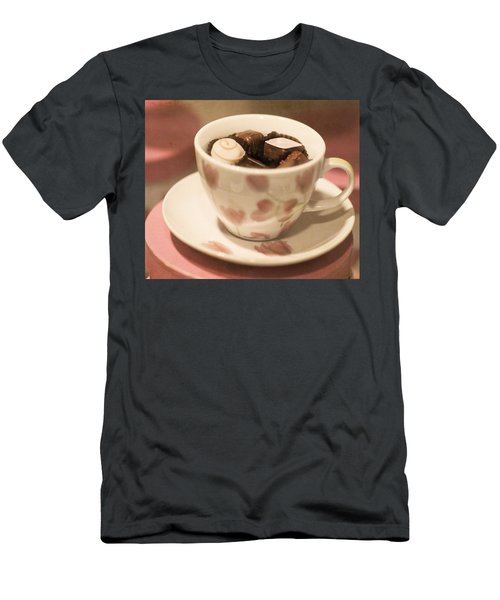 Cup Of Chocolate Men's T-Shirt (Athletic Fit)