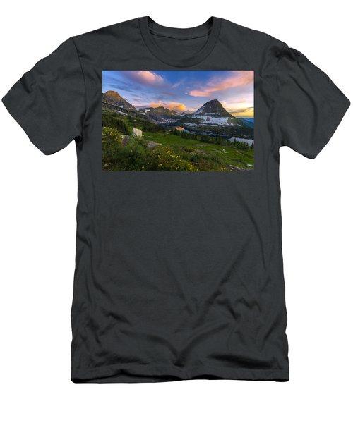 Curious Goat Men's T-Shirt (Athletic Fit)