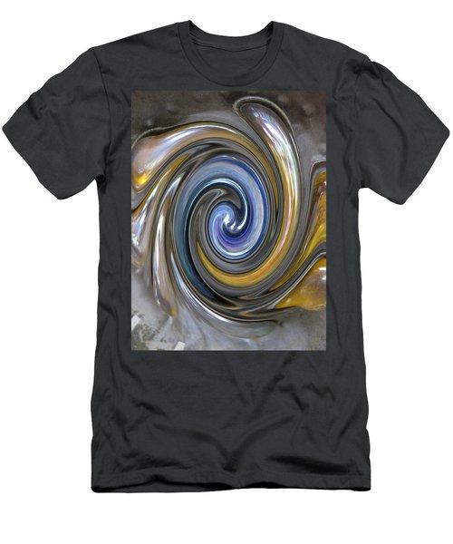 Curlicue Twirl Men's T-Shirt (Athletic Fit)