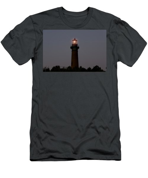 Men's T-Shirt (Slim Fit) featuring the photograph Currituck Lighthouse by Greg Reed