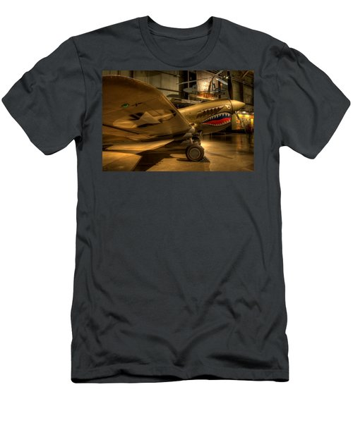 Curtiss P-40 Warhawk Men's T-Shirt (Athletic Fit)