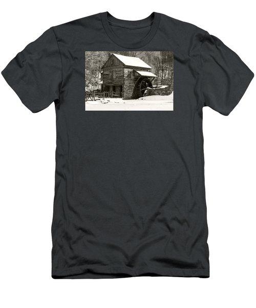 Cuttalossa In Winter Iv Men's T-Shirt (Slim Fit) by Debra Fedchin