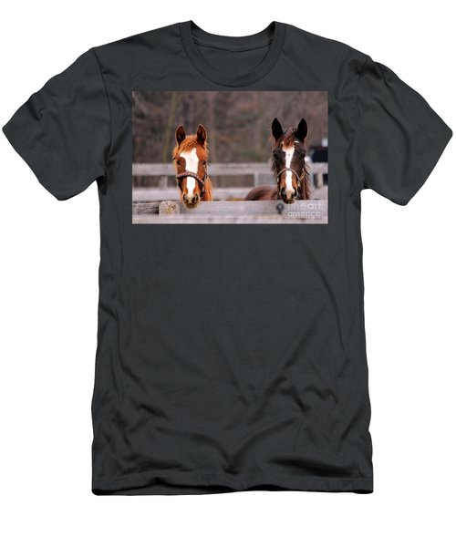 Cute Yearlings Men's T-Shirt (Athletic Fit)