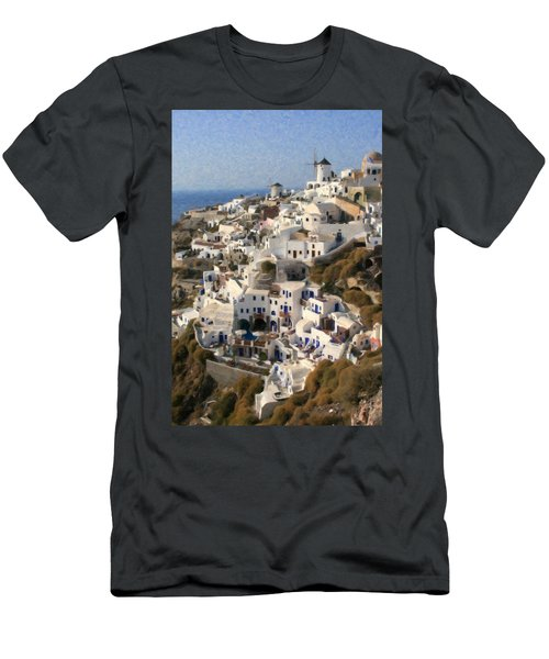 Cyclades Grk4309 Men's T-Shirt (Athletic Fit)