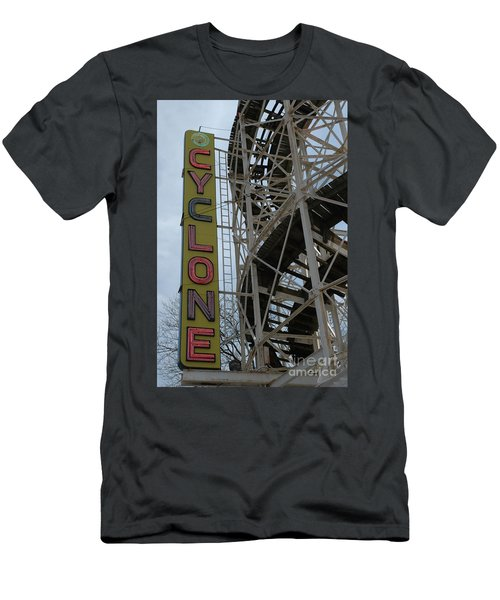Cyclone - Roller Coaster Men's T-Shirt (Athletic Fit)