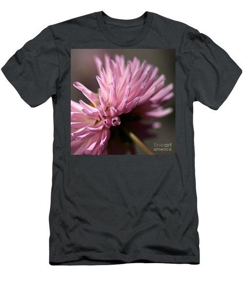 Men's T-Shirt (Slim Fit) featuring the photograph Dahlia by Joy Watson
