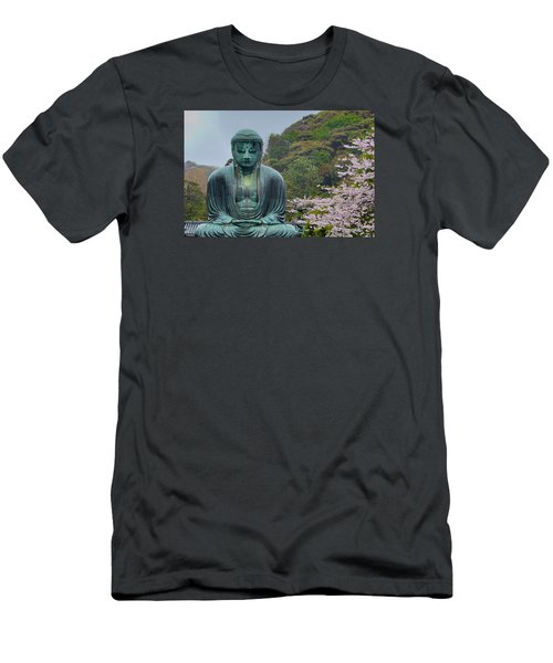 Daibutsu Buddha Men's T-Shirt (Athletic Fit)