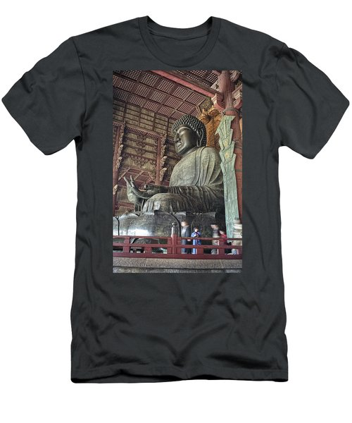 Daibutsu Buddha Of Todai-ji Temple Men's T-Shirt (Athletic Fit)