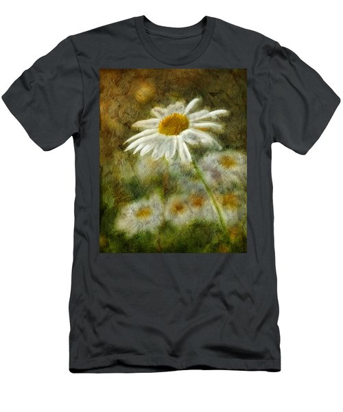 Daisies ... Again - P11at01 Men's T-Shirt (Athletic Fit)