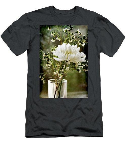 Daisy Mum  3 Men's T-Shirt (Athletic Fit)