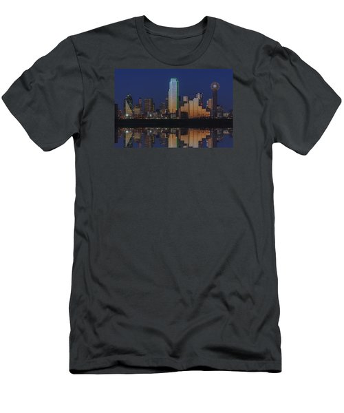 Dallas Aglow Men's T-Shirt (Athletic Fit)