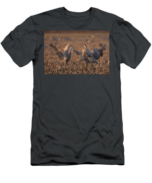 Dancing Sandhills Men's T-Shirt (Athletic Fit)