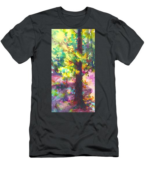 Dappled - Light Through Tree Canopy Men's T-Shirt (Athletic Fit)