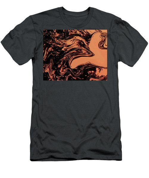 Men's T-Shirt (Slim Fit) featuring the photograph Dark Bird by Aimee L Maher Photography and Art Visit ALMGallerydotcom