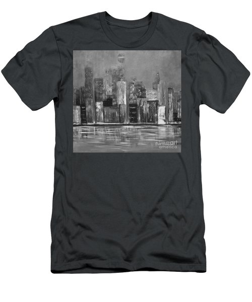 Dark Clouds Over The City Men's T-Shirt (Athletic Fit)
