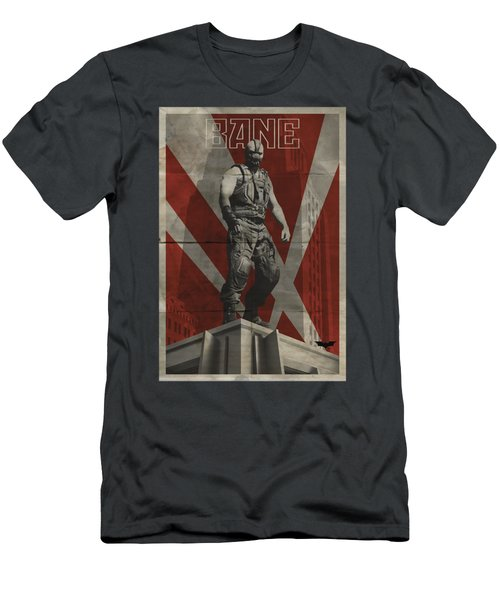 Dark Knight Rises - Bane Rooftop Poster Men's T-Shirt (Athletic Fit)