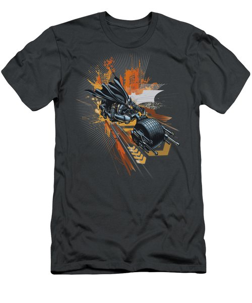 Dark Knight Rises - Batpod Men's T-Shirt (Athletic Fit)